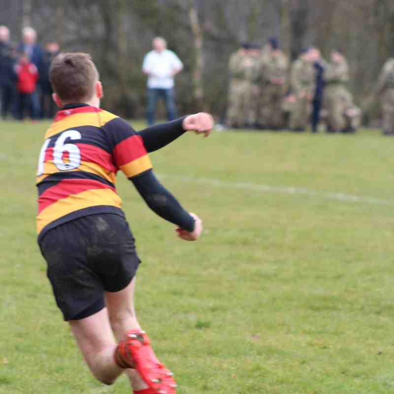 John Finnegan memorial game 23/3/18 Harrogate Colts 29:0 Army Foundation College
