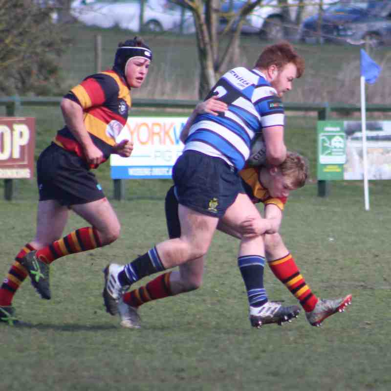 17/3/19 Driffield 14: 64 Harrogate Colts