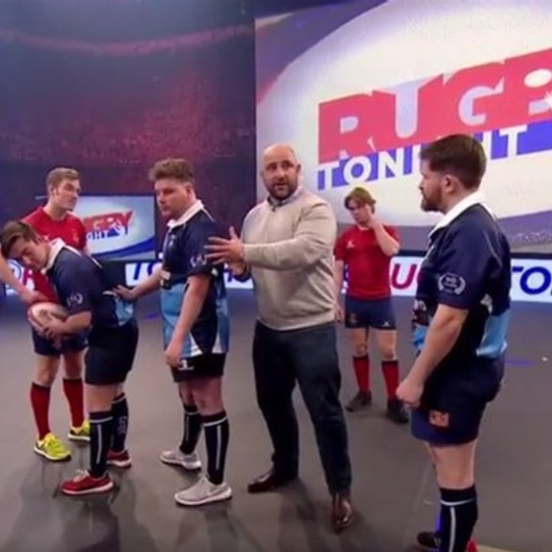All Blues appear on Rugby Tonight