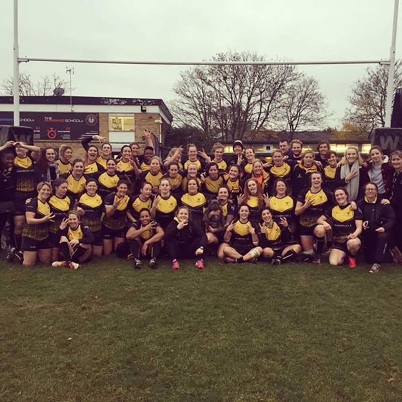 Wasps Ladies beat Saracens Ladies II 5 - 16