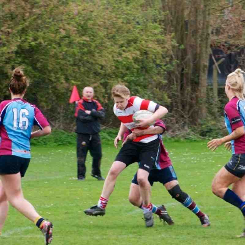 Warley Women vs Camp Hill (6th April 2014)