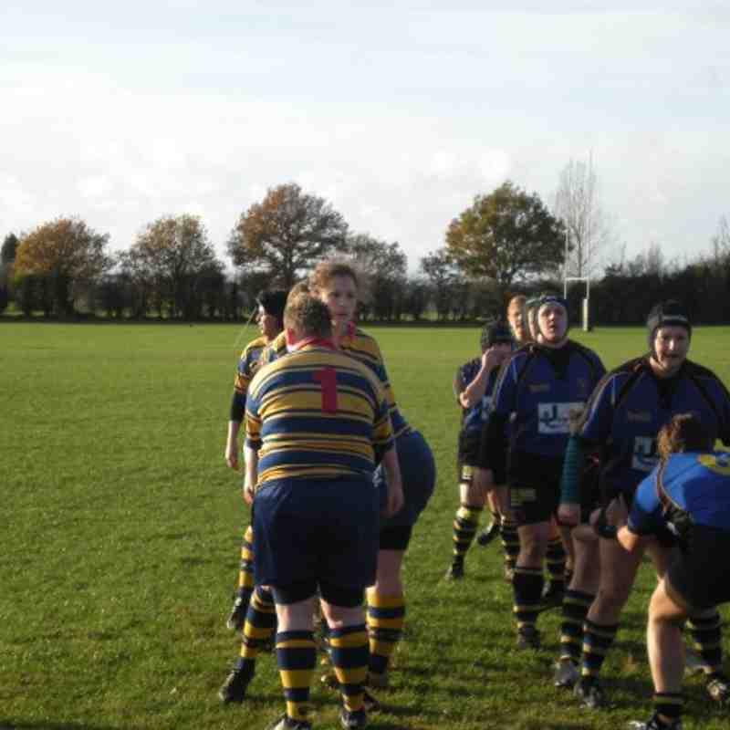 Ladies 1st Team Vs Hertford Away 22/11/09