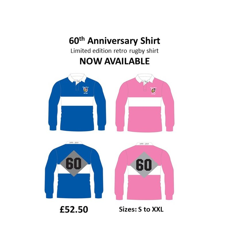 60th Anniversary Shirt - NOW AVAILABLE