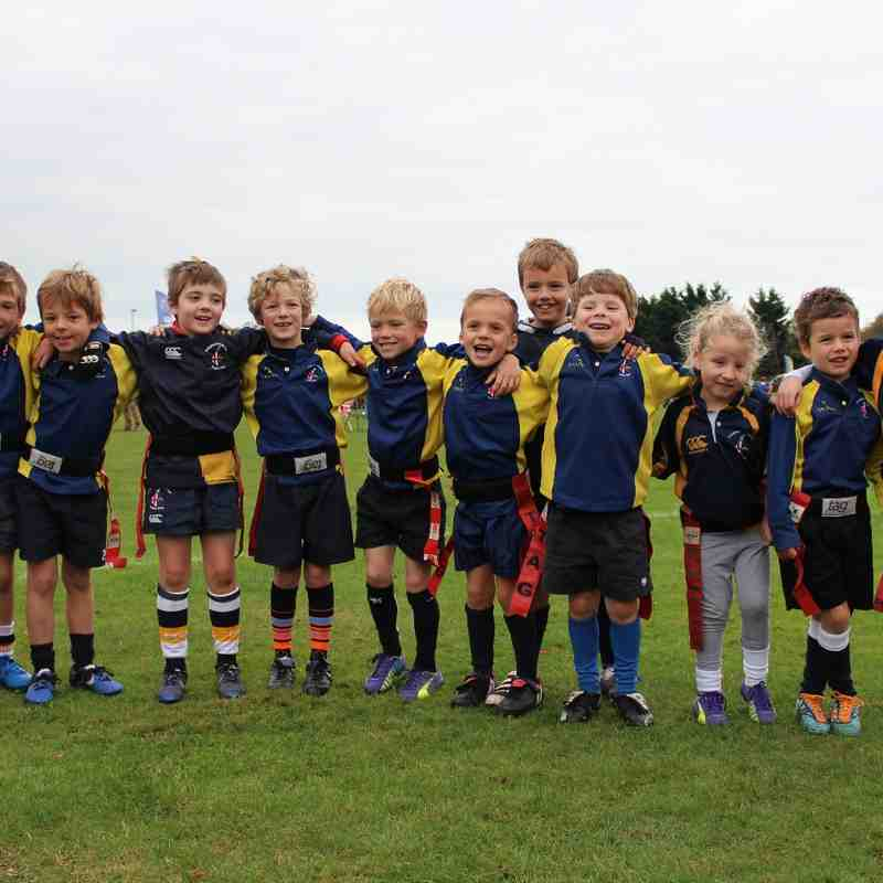U7s New Milton Tournament October 2014