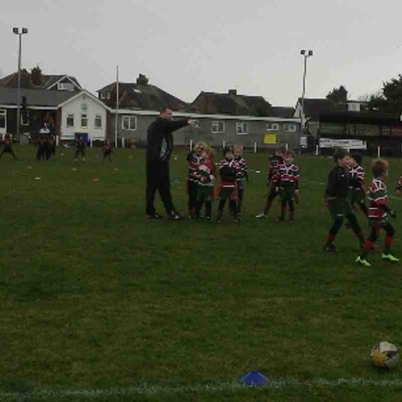 Waterloo U7's vs Southport 230214