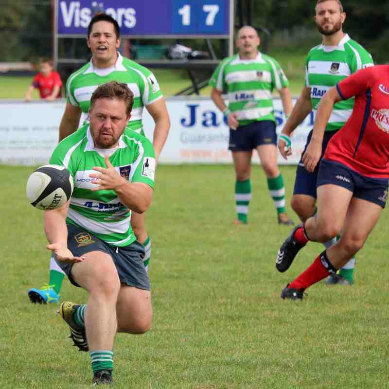 Folkestone 1st XV beaten by Aylesford 22-33 - by Lisa Godden