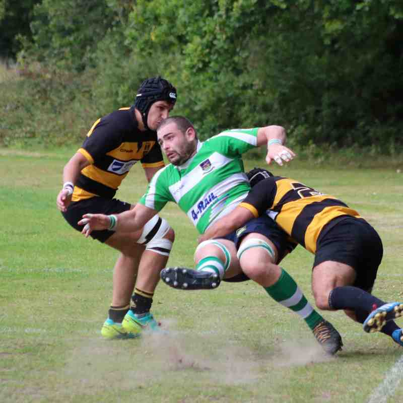 Folkestone 1st XV lose to Bromley 26-27 - by Lisa Godden