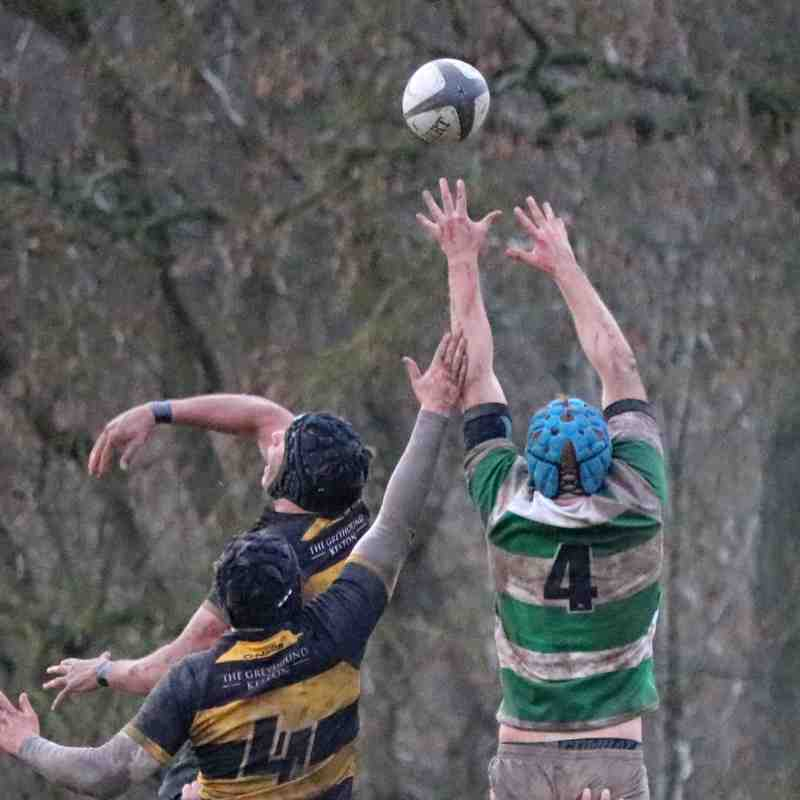 First game of 2018 - Folkestone 1st XV lose to Bromley 10-11
