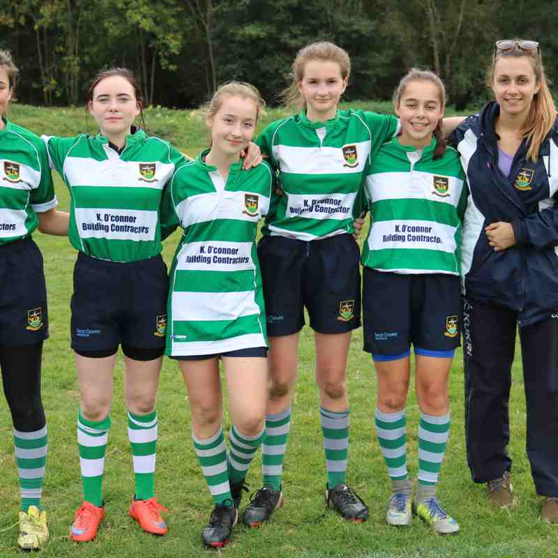 Under 15 Girls - by Lisa Godden