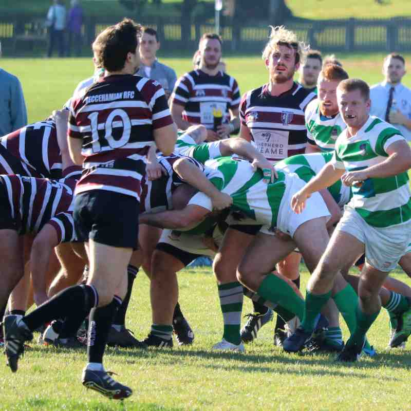 Folkestone 1st XV lose to Beccehamians 19-61 by Lisa Godden