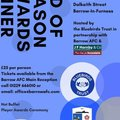 Bluebirds Trust / Barrow AFC End of Season Players Award Dinner