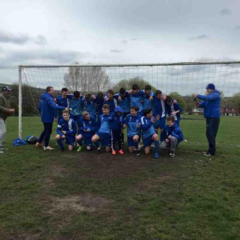 U15 Blues League Champions