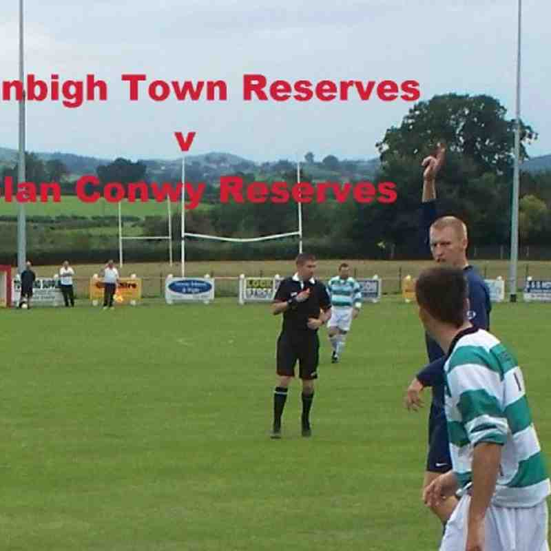 Denbigh Town Reserves v Glan Conwy Reserves