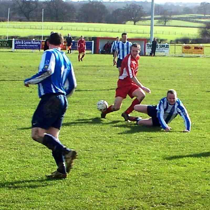 Denbigh Town v Llanrwst United - Cookson Cup