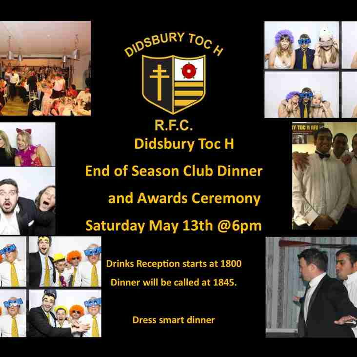 Upcoming Socials and dates for the diaries
