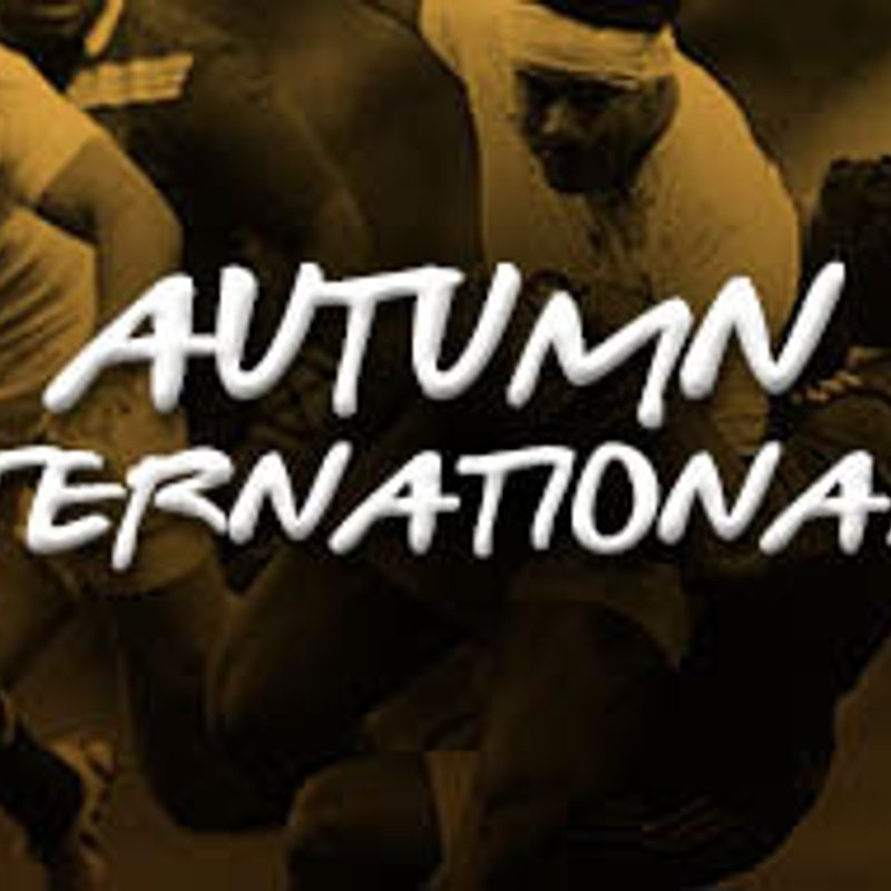 AUTUMN INTERNATIONALS TICKET APPLICATIONS