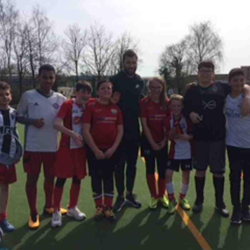 Charlie Austin Football School - Easter 2018