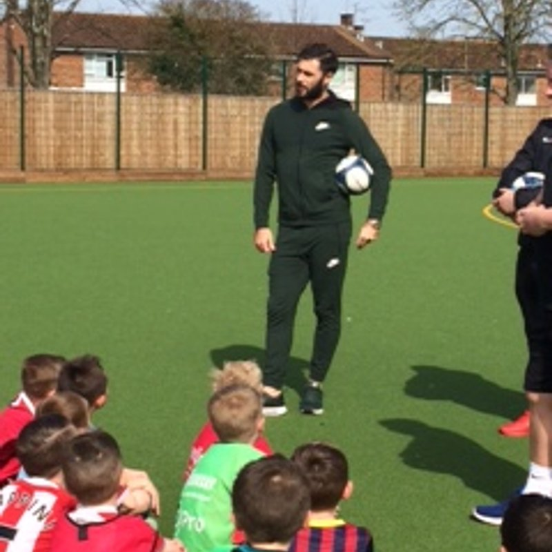 At Your Club with Charlie Austin Football School