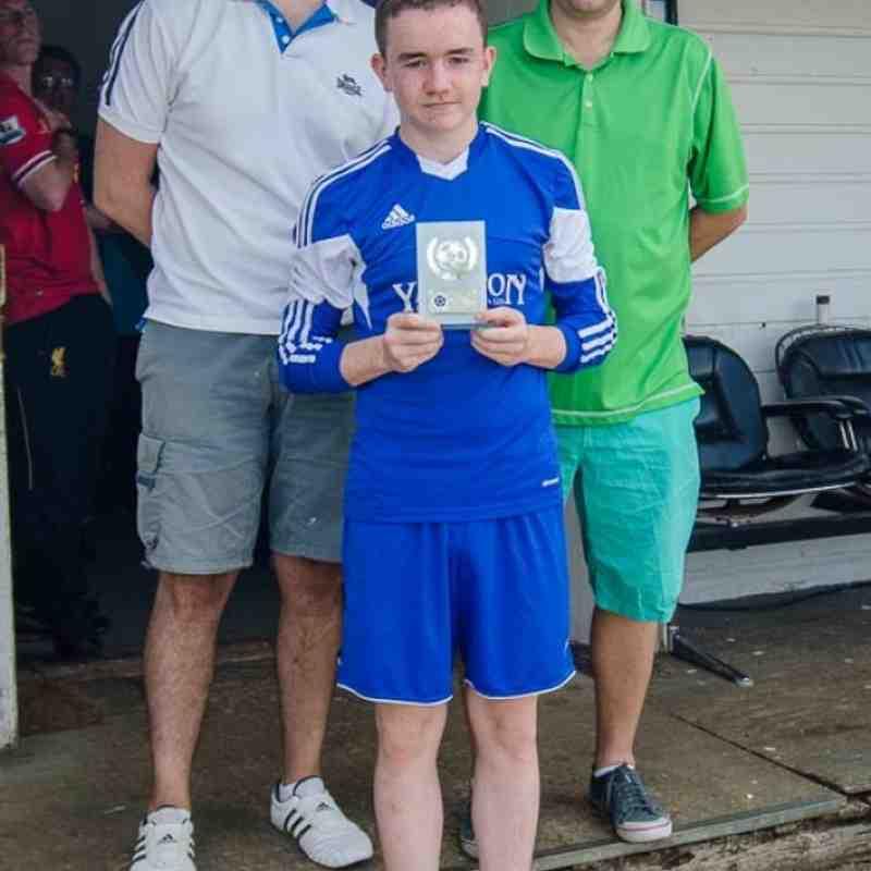Edward McCarthy - Parents player of the season 2013 /14