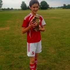 Luke May - 2013/14 Penalty King....