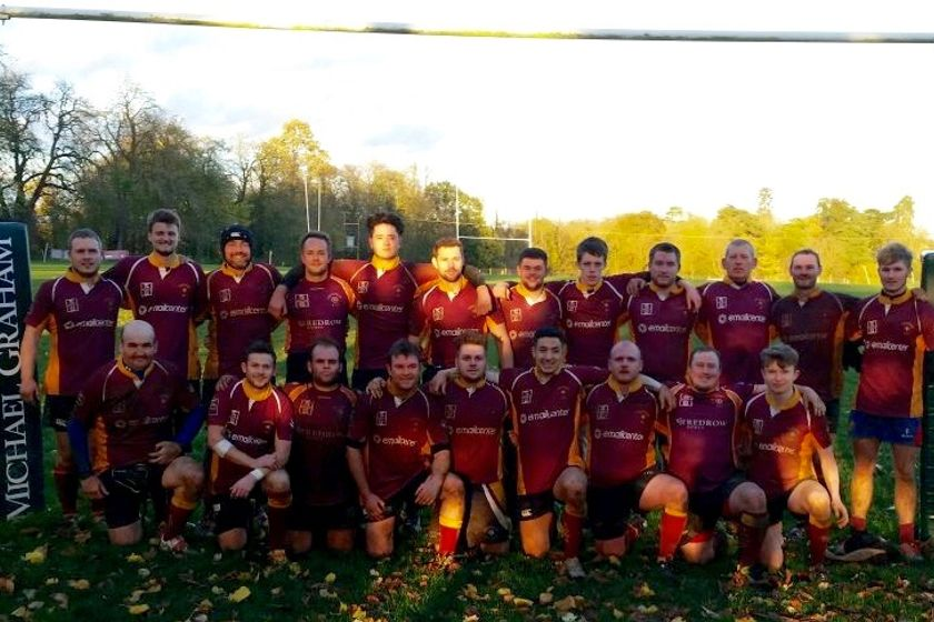 "3rd XV ""The Ultimates"" beat Winslow 74 - 0"