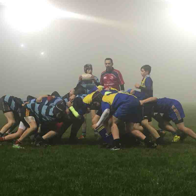 U14 v Navan in the fog Jan16