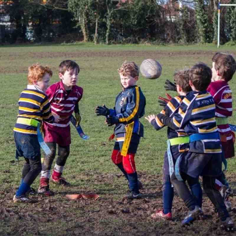 U7s Wirral v Anselmians / Helsby 2-2-14