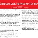 Match Report 12.11