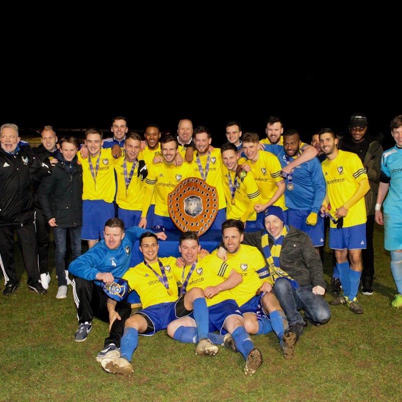 Berko Win Herts Charity Shield