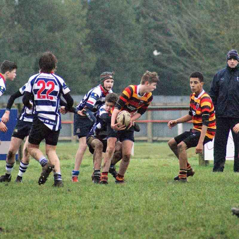 U15's Banbury Vs Bicester 31th January 2015