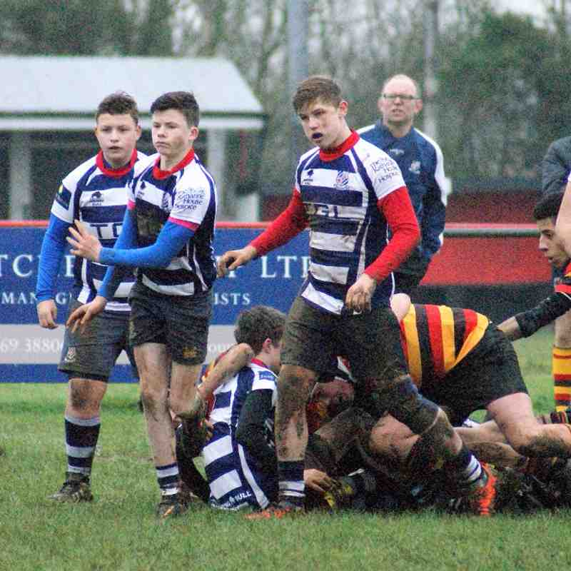 U15's Banbury Vs Bicester 31th January 2016