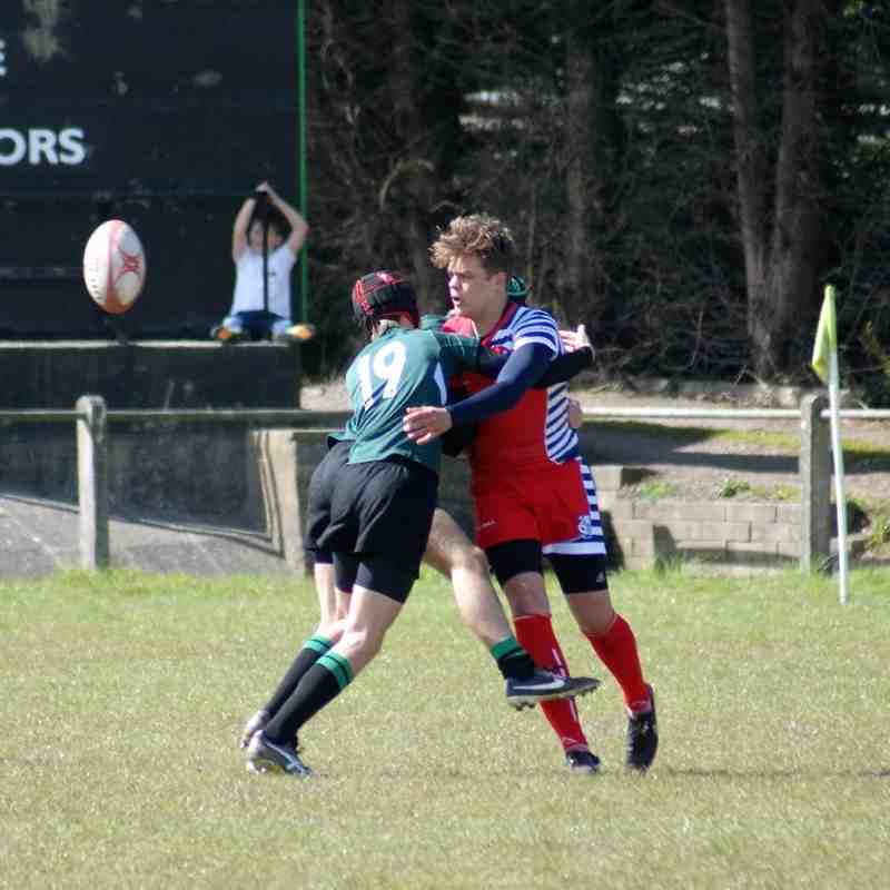 U15's Hayle Vs, Banbury 30th April 2016
