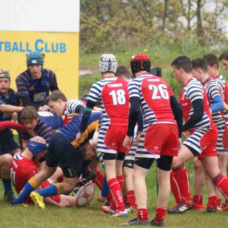 U15's Truro Vs, Banbury 1st May 2016