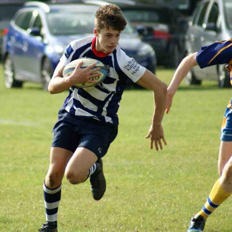 U16's Banbury Vs Old Leamingtonians 23rd Oct 16