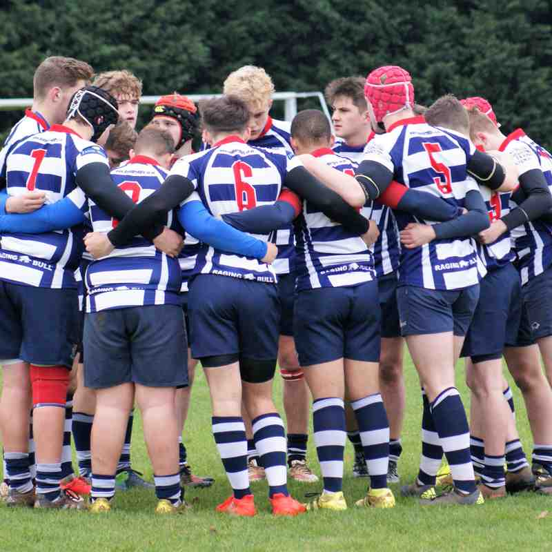 U16's Old Pats Vs Banbury 20th November 16