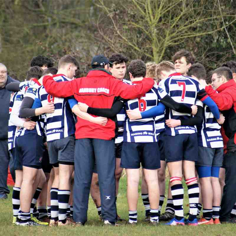 U16's Hinckley Vs Banbury 5th February 2017