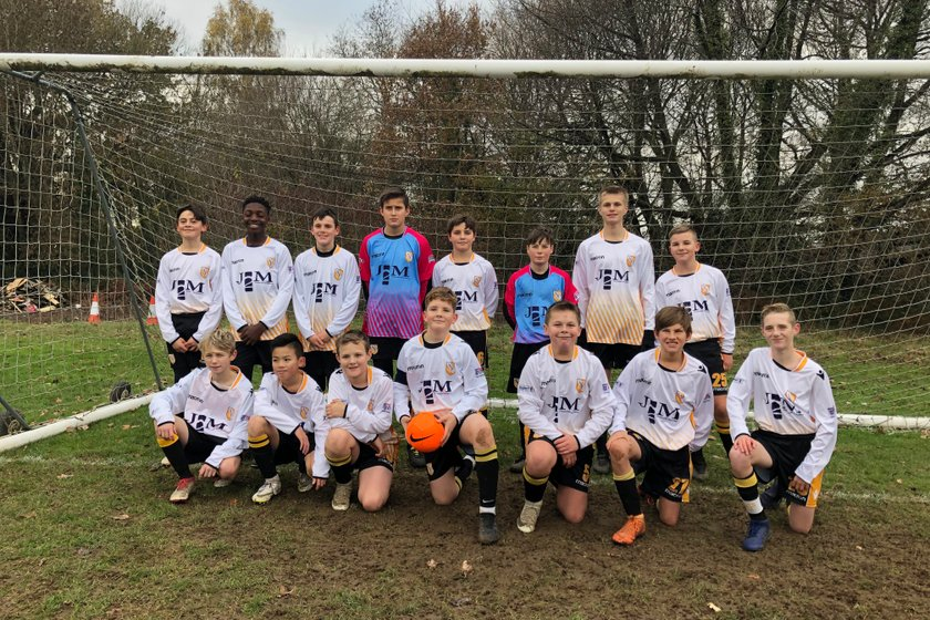 U13 Spitfires beat Moneyfields Youth 5 - 1
