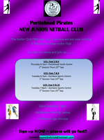 Portishead Pirates Junior Netball Club - Official Launch