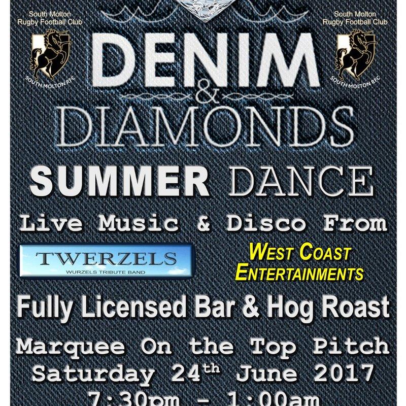 SMRFC Denim & Diamonds Summer Dance