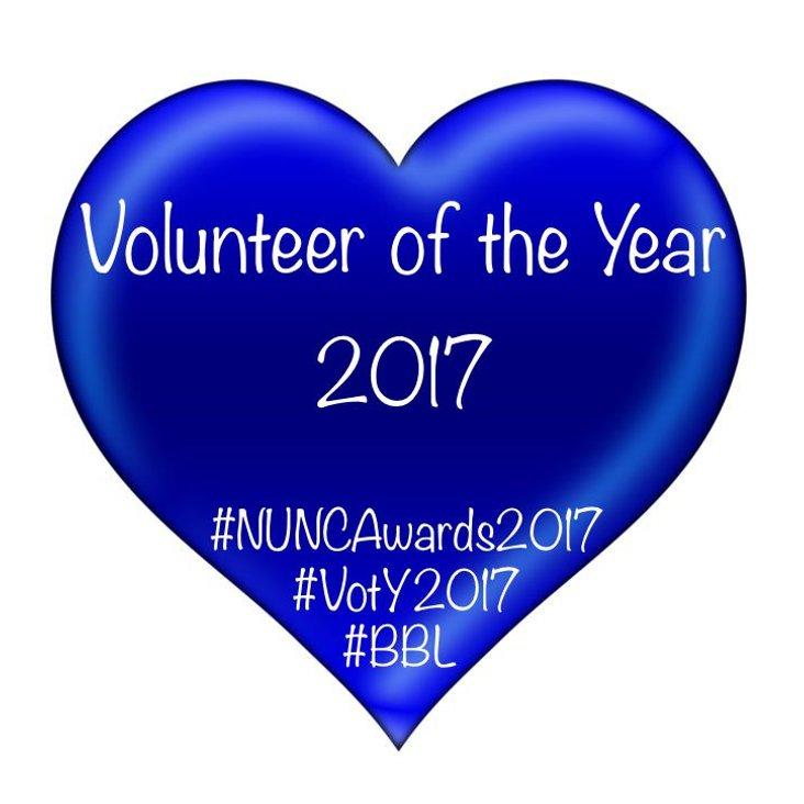 Volunteer of the Year 2017<