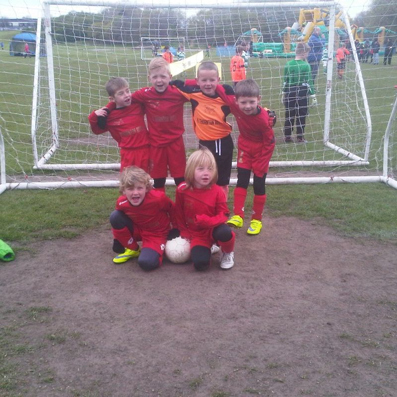 Netherton Athletic U8 beat Mags Inter 0 - 7