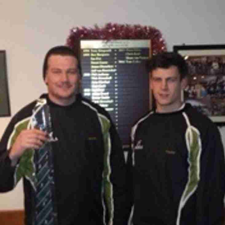 Jonno (J2) Lawson and Freddie Henley-Hunter
