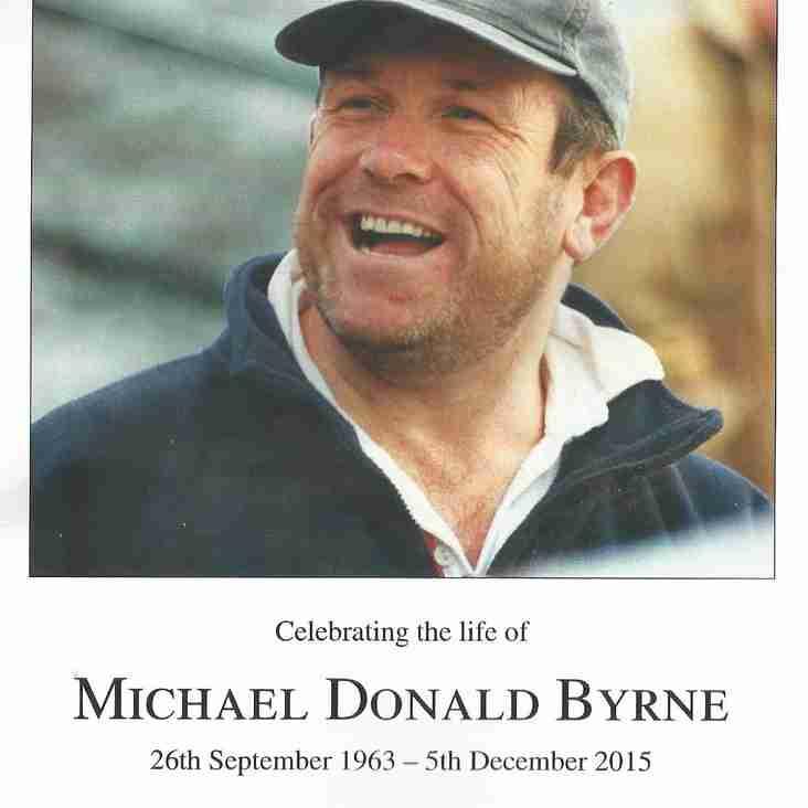 Mickey Byrne Memorial Service