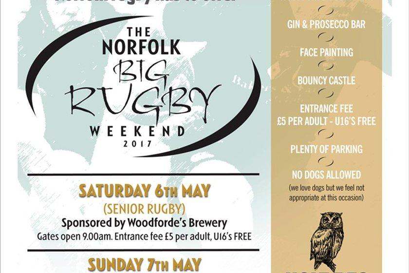 Norfolk Big Rugby Weekend 6/7 May