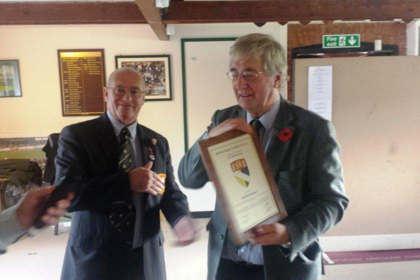 David Robinson Norfok RFU Honorary Life Membership