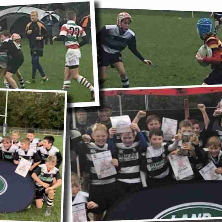 Wigan Under 12's win the Land Rover Premiership Rugby Cup