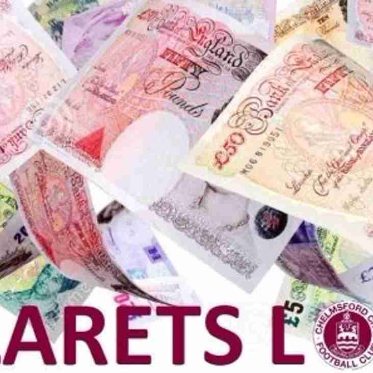 Clarets Lottery Winners For Week 485 to Week 488 Announced