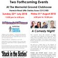 Walking Footballer's To Present Two Forthcoming Events At The Memorial Club!