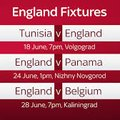Watch ALL The England World Cup Group Stage Matches At The Acorns!
