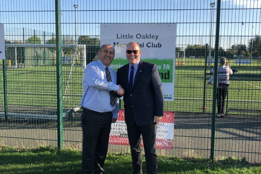 Little Oakley Football Academy  - Acorns Launch Full-Time Football Academy